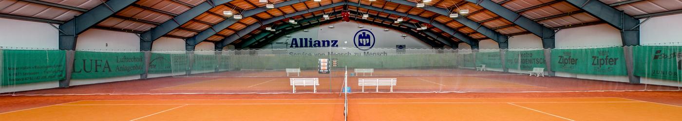 die grosse Tennishalle