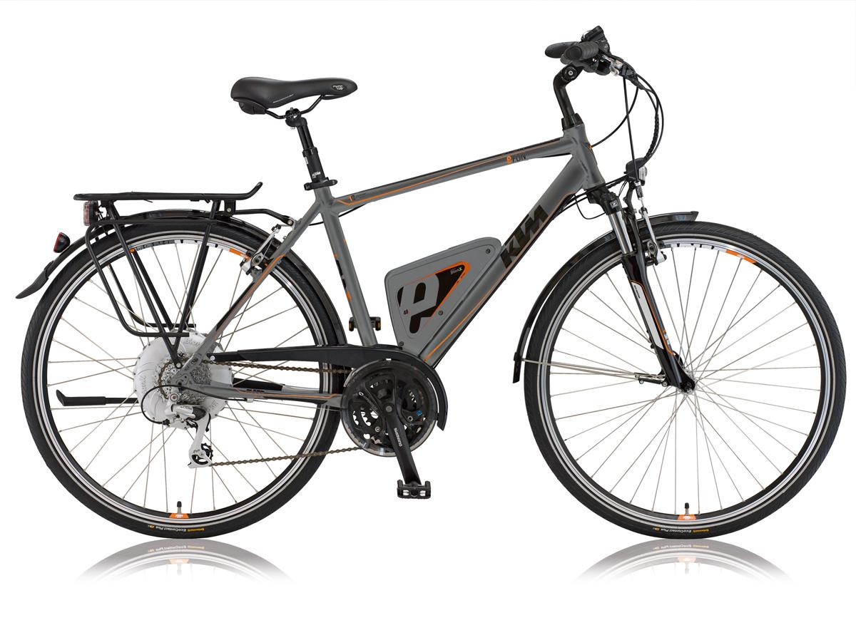 Fahrrad der Marke KTM eFun BionX HE anthrazit matt 2013