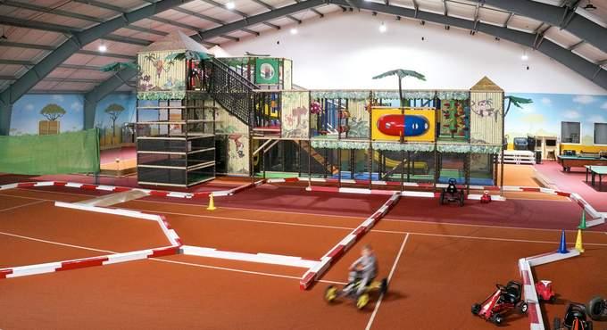 Indoor Funpark mit über 1.200 Quadratmeter