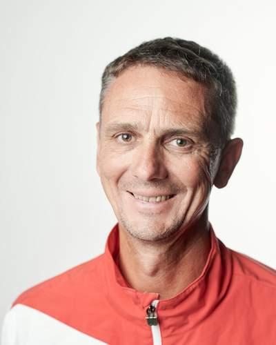 Tennisschulleiter Juri Krocsko
