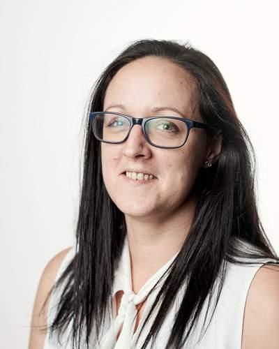 Rezeptionistin Bianca Pfneiszl