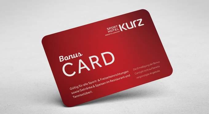 Bonuscard Ermäßigung im Sporthotel Kurz