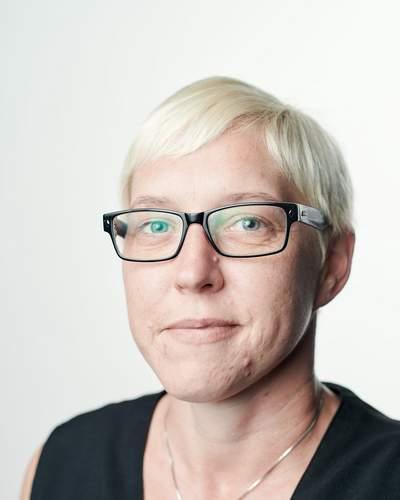 Rezeptionsleiterin Jennifer Harter