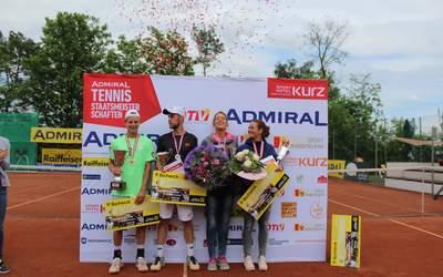 Siegerehrung Tennis Staatsmeisterschaften