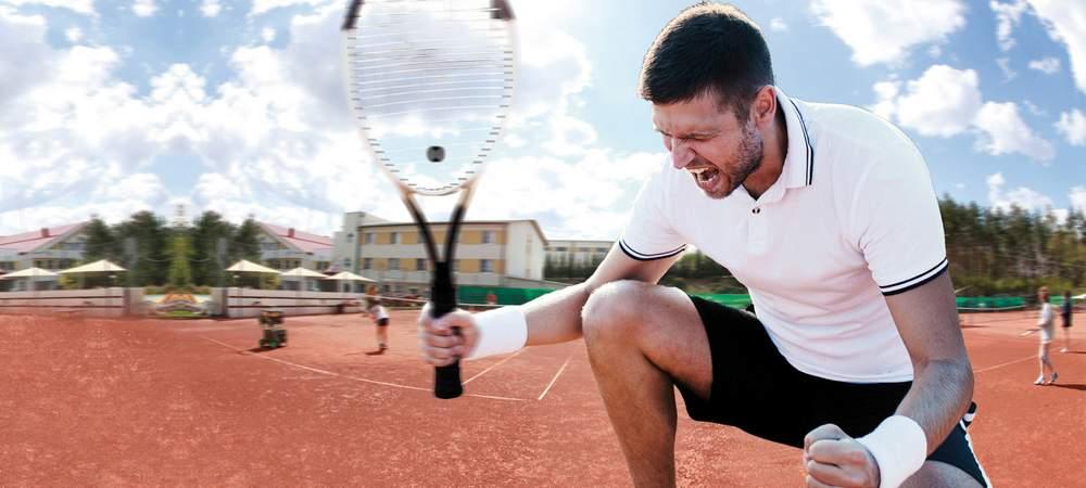 Siegesjubel am Tennisplatz