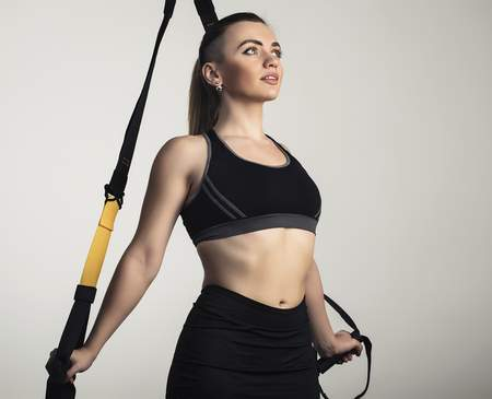Fitnesstraining am TRX Band
