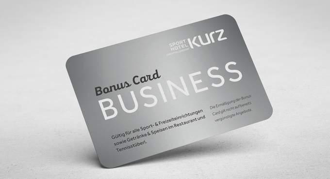 Business Bonuscards für Firmen