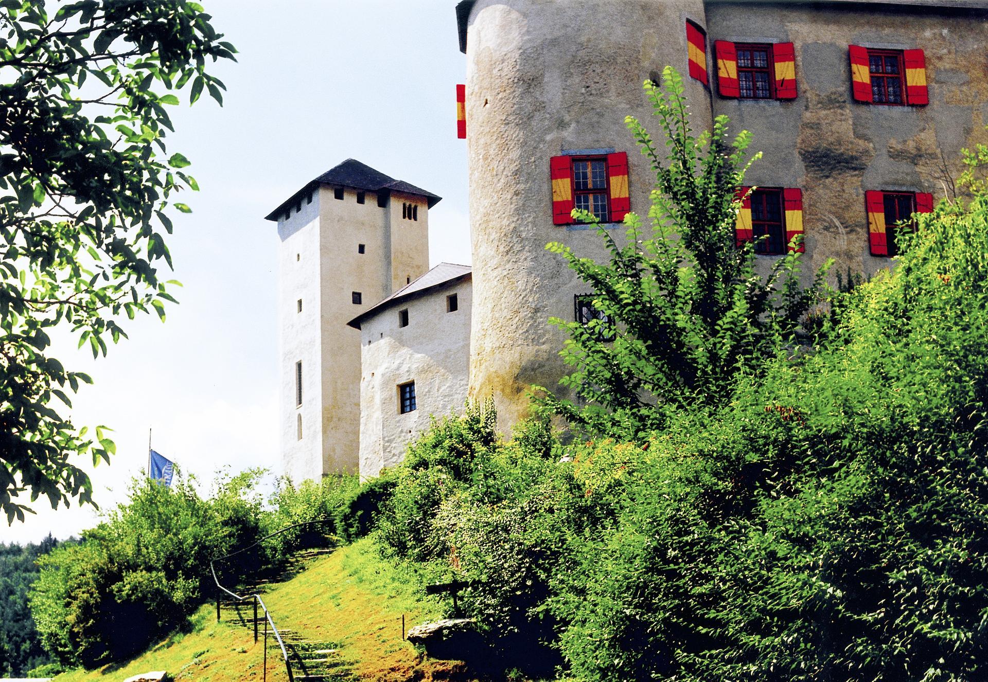 Ansicht der Burg Lockenhaus
