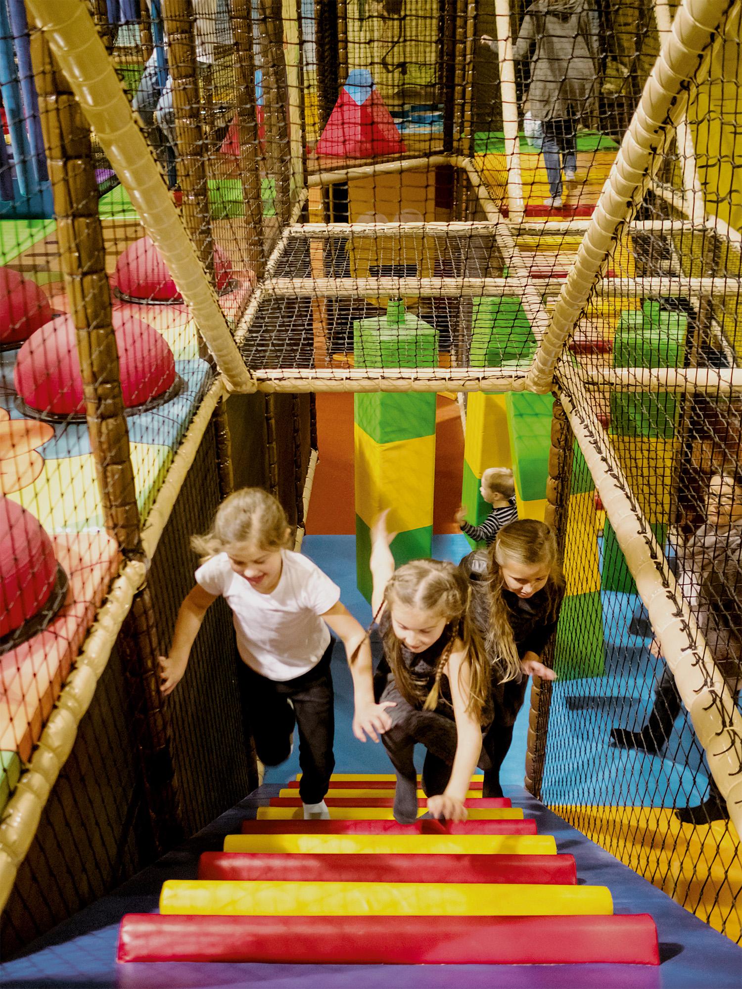Softplayanlage für Kinder