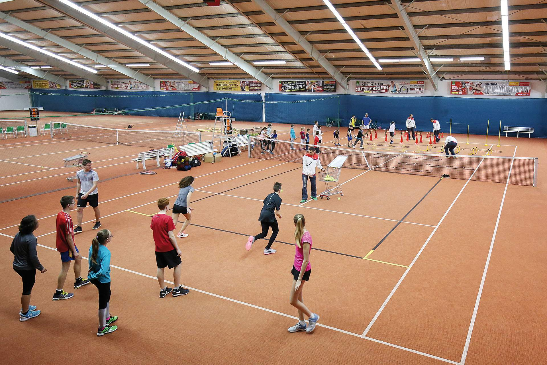 Konditions & Tennistraining