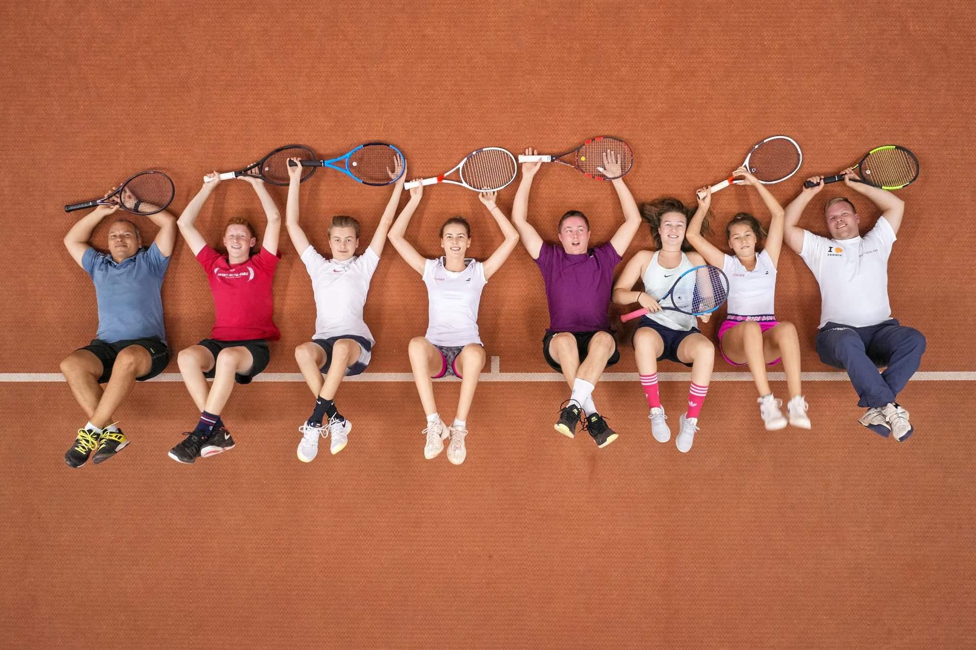 Tenniskids des TC Sporthotel Kurz