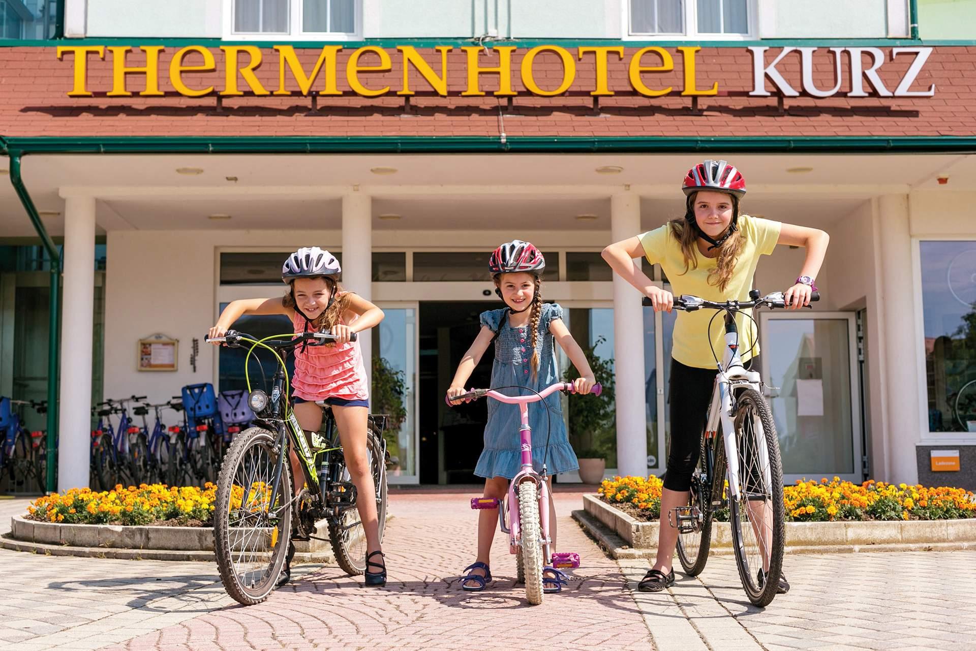 Kinderräder Thermenhotel Kurz