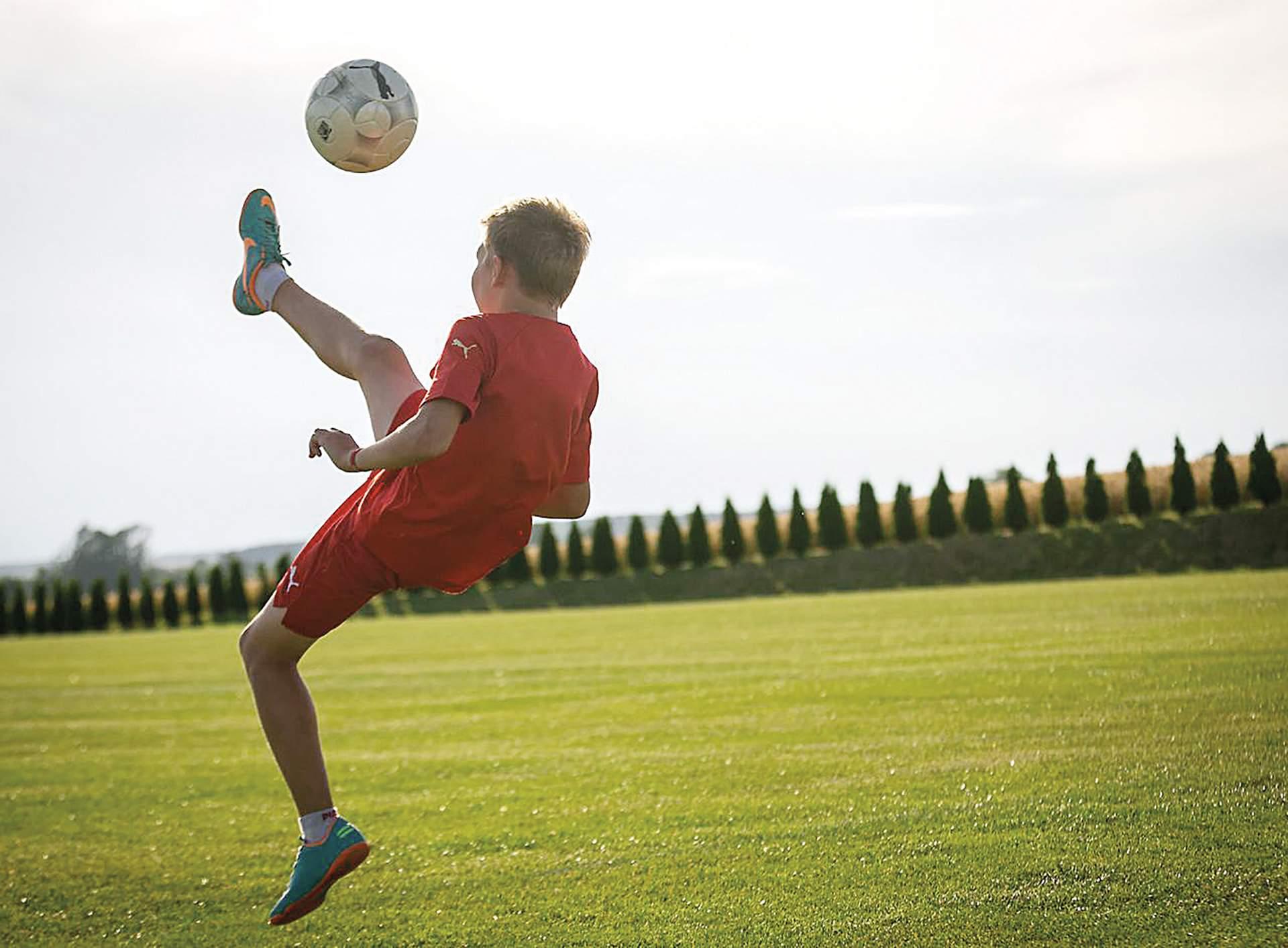 Fußball spielen beim Kurz