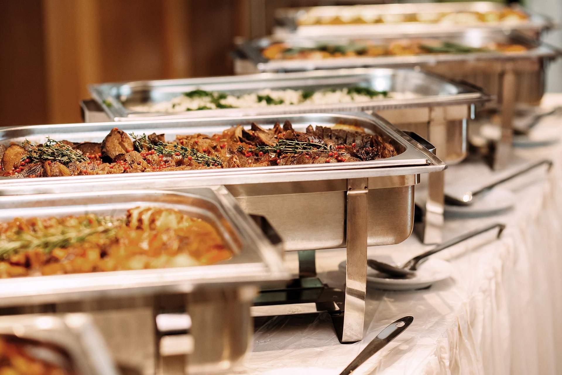 Abendbuffet im Sporthotel Kurz