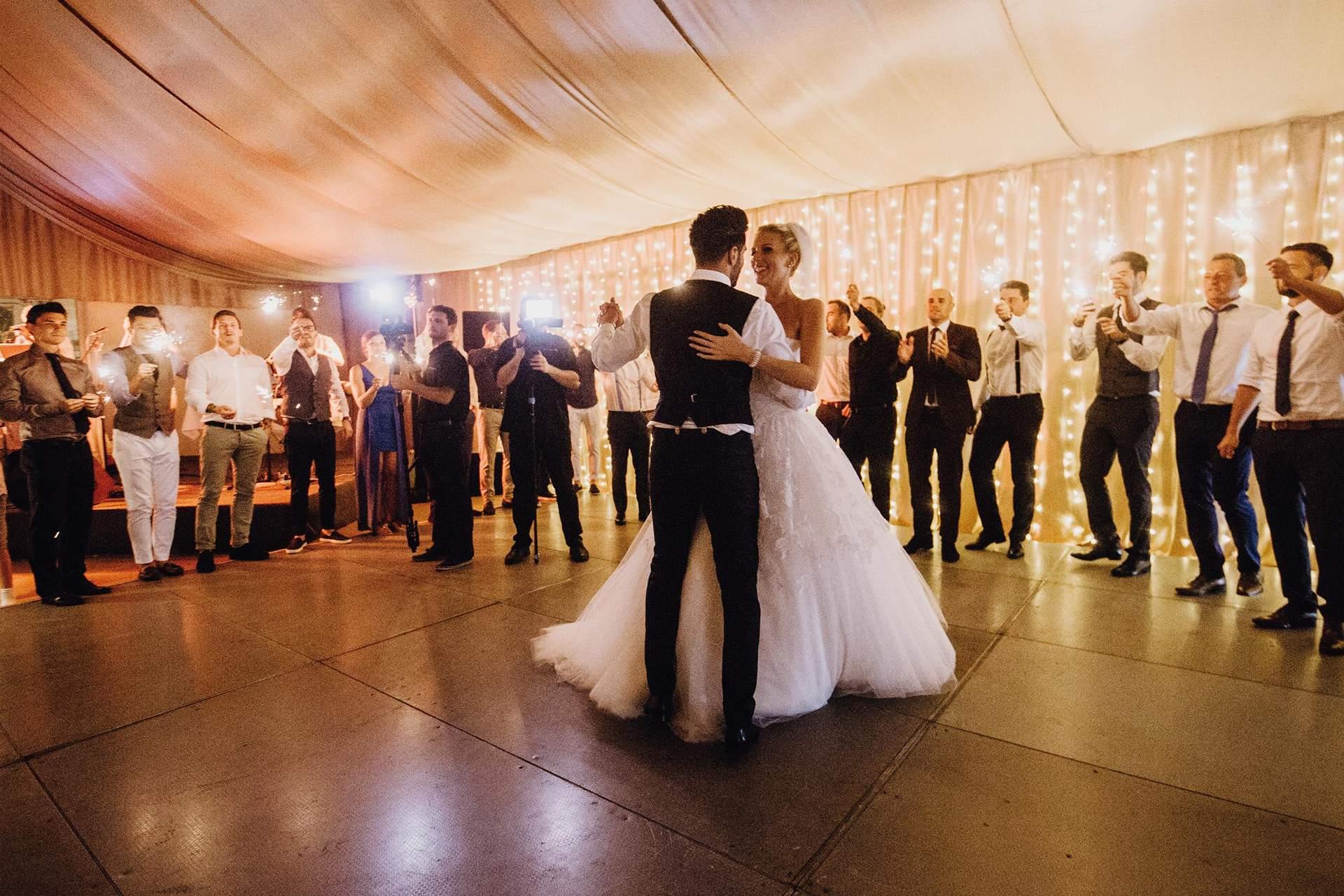 Tanz Braut & Bräutigam