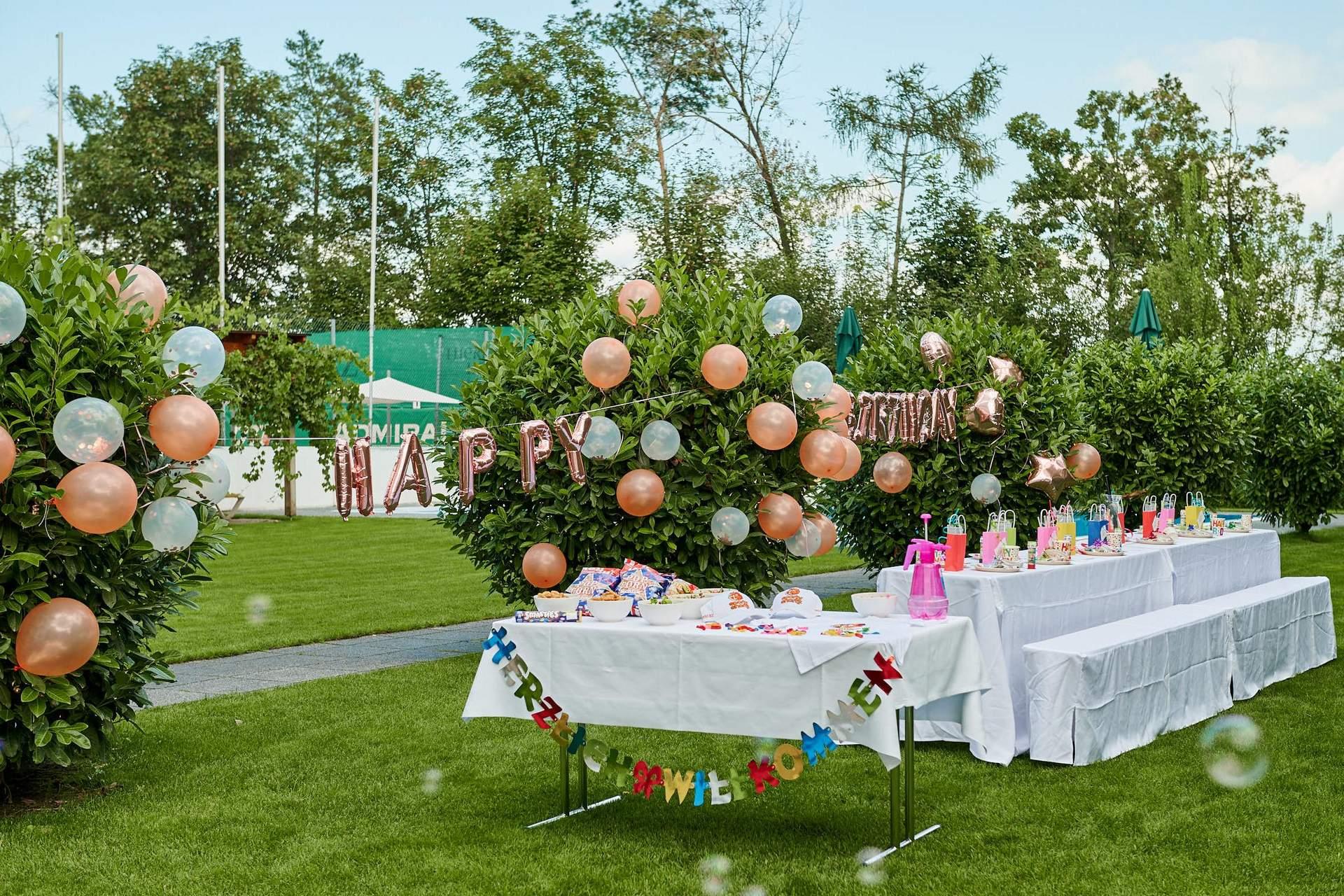 Kinderparty im Grünen