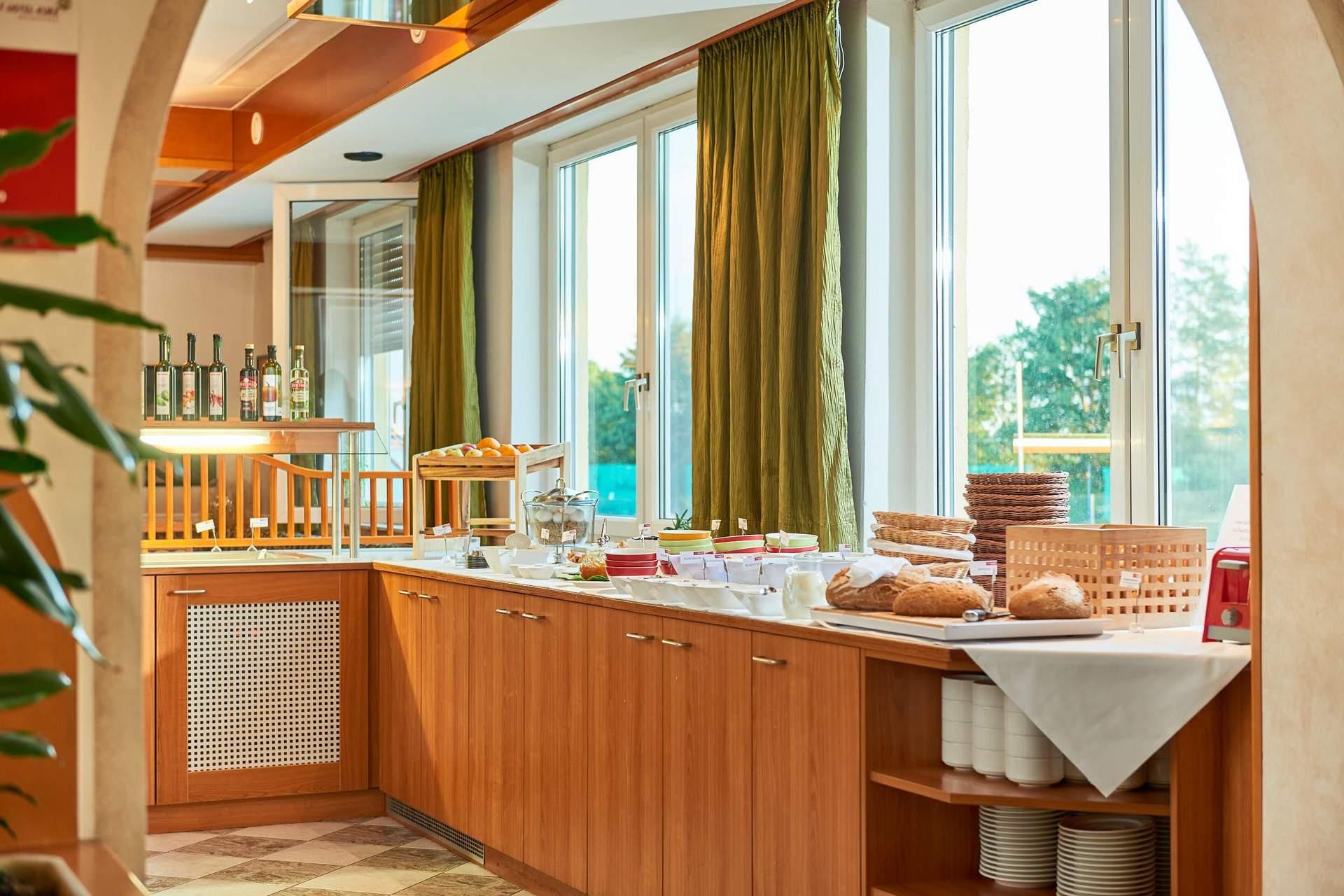 Kontinental Frühstücksbuffet