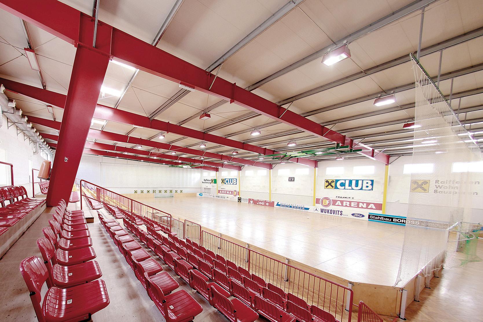 Sport jeder Art auf über 1.000 m2
