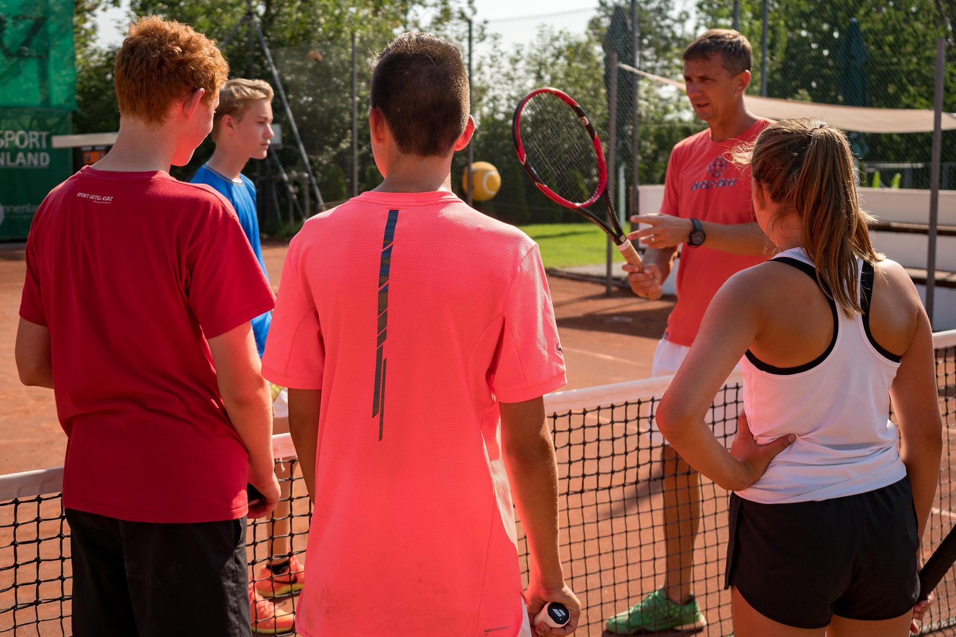 Erklärung Tennistrainer