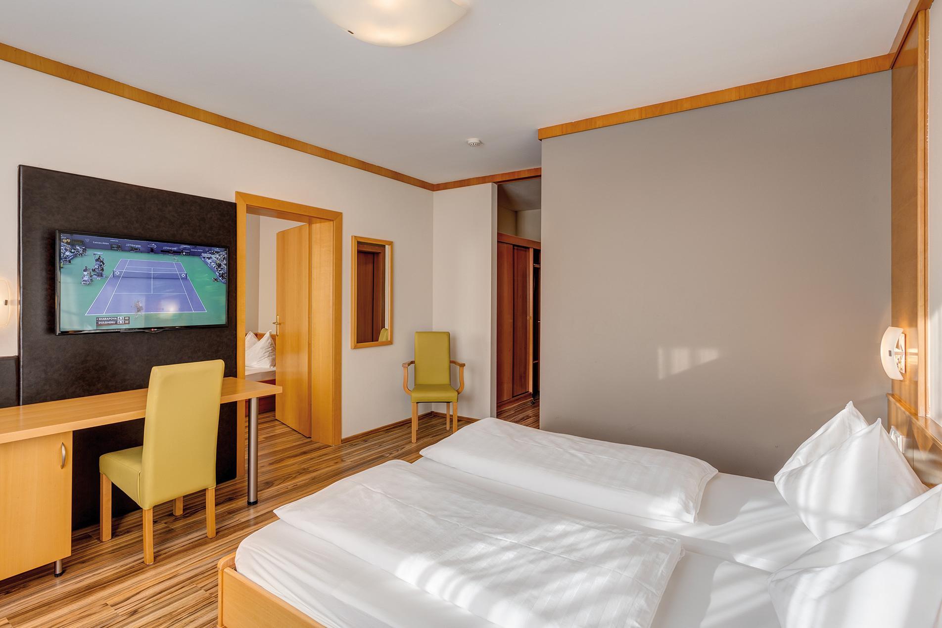 Appartement mit getrennten Schlafzimmern