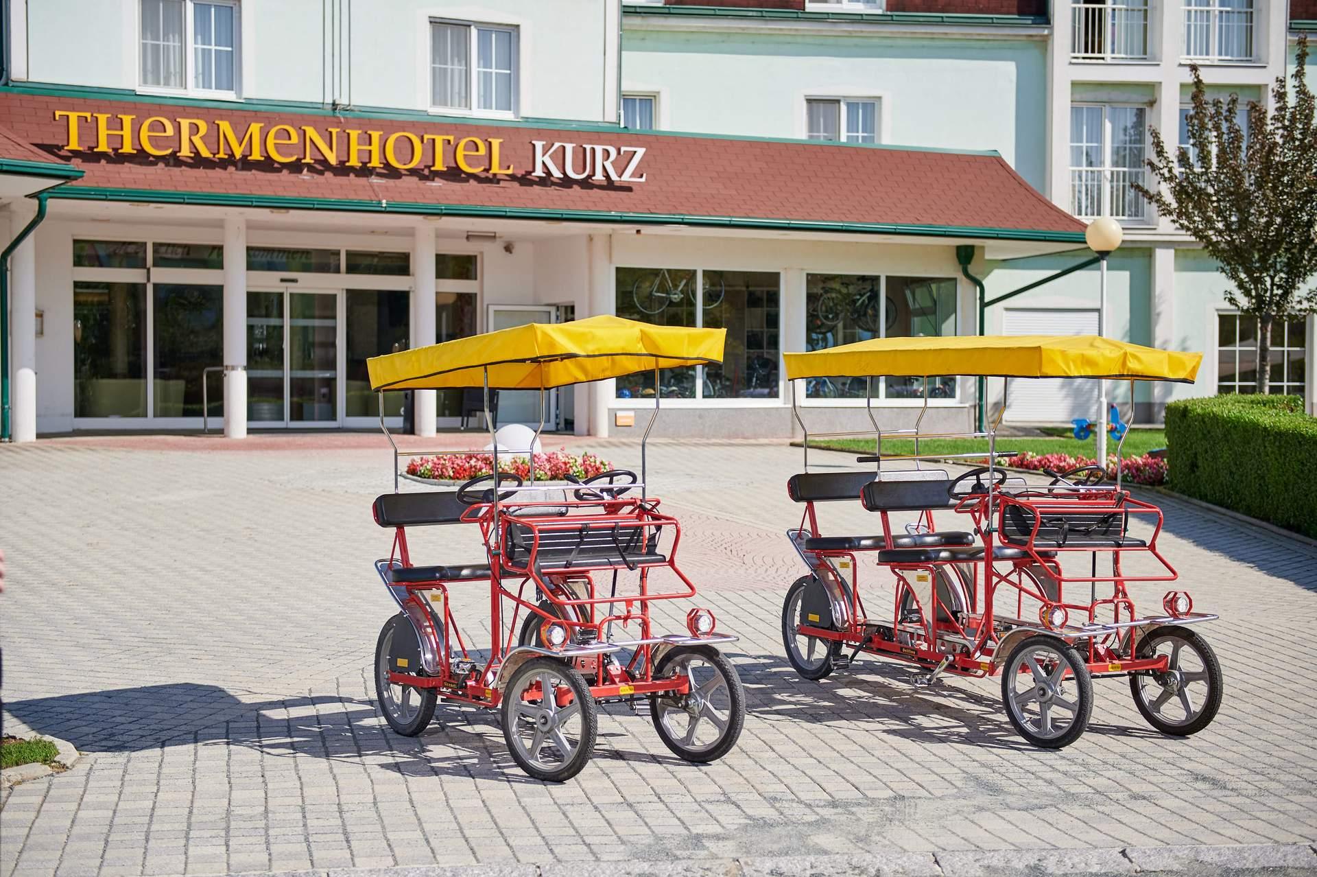 Rikscha fahren Lutzmannsburg