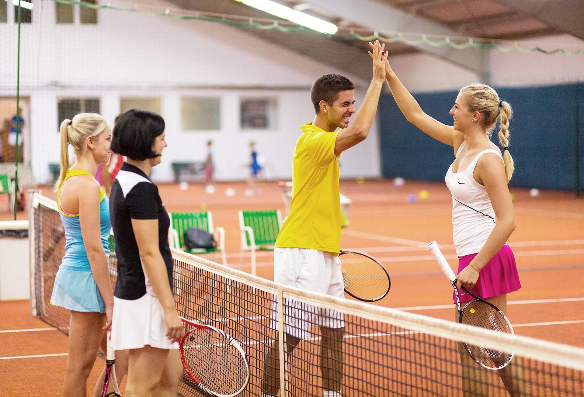Emotionen beim Tennis
