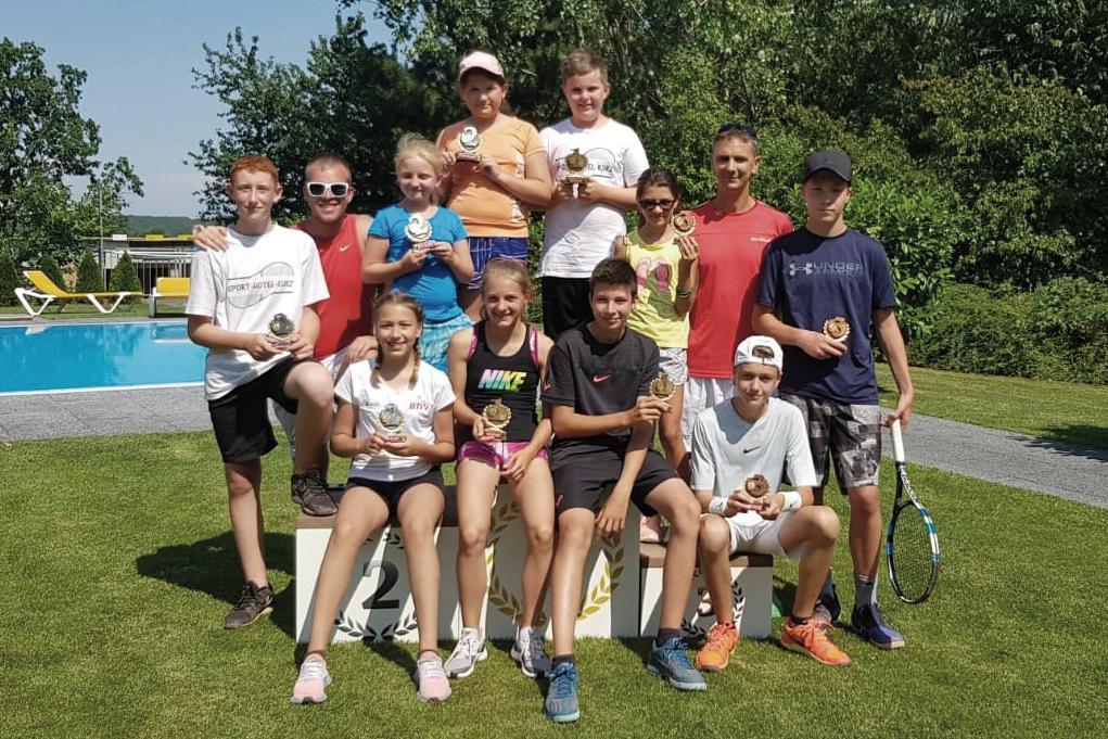 Siegerehrung Tennis Kids