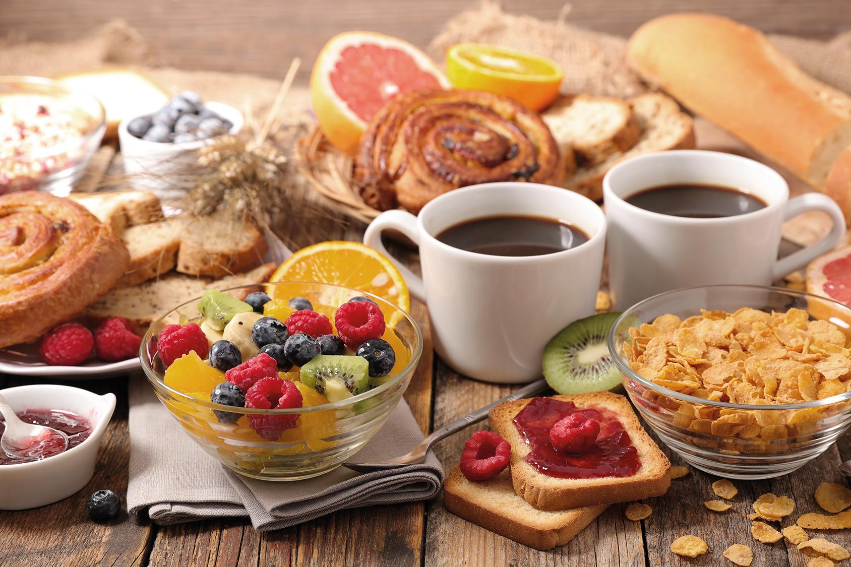 Genuss beim Frühstück