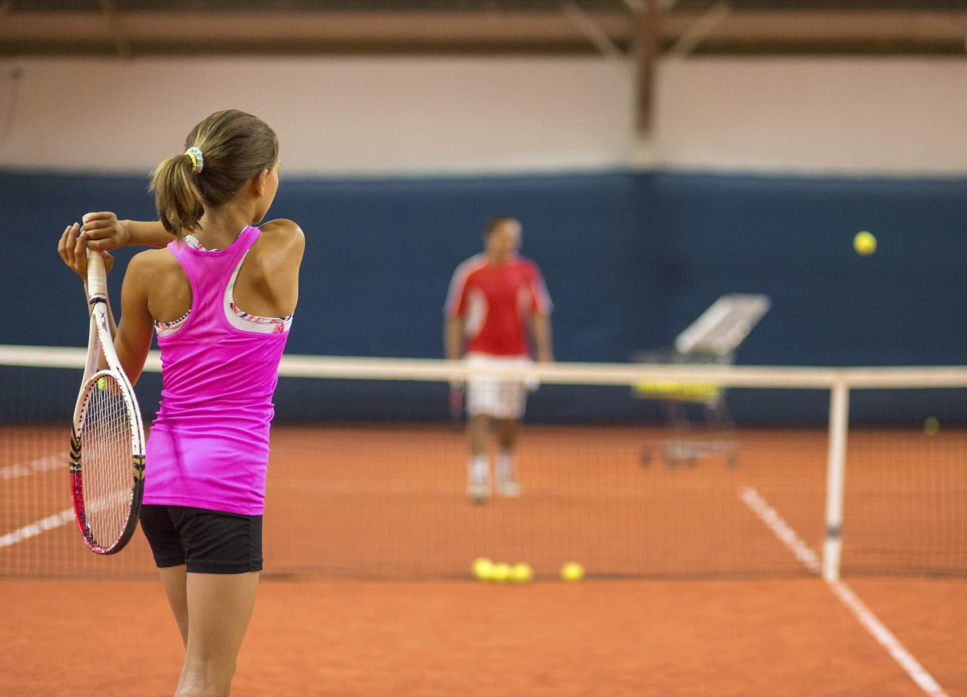 Professionelles Tennistraining